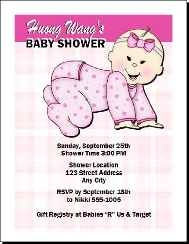 Baby Shower Invitation Images front-957819