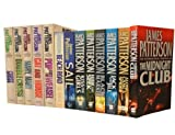 James Patterson James Patterson Alex Cross Collection 13 Books Set Pack (Sail, Beach Road, Black Market, Jack and Jill, Kiss the Girls, Along Came a Spider, Cross, Hide and Seek, Pop Goes The Weasel, The Midnight Club, Double Cross, Cat and Mouse, Mary,