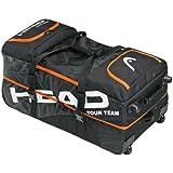 Head Tour Team Travel Bag Tennis Bag - Black/Orange/White