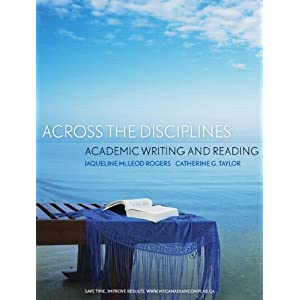Across the disciplines academic writing and reading pdfs
