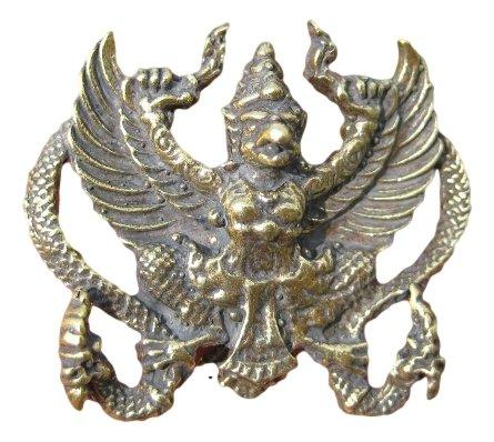 Garuda God Figura decorativa per uccelli a forma di morso A16 Thailandia