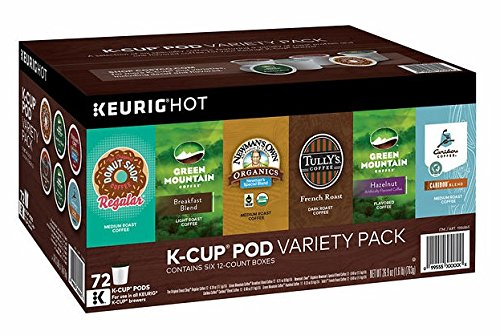 Green Mountain Coffee Variety Pack - 6 of 24 K-Cup Pods (144 total)