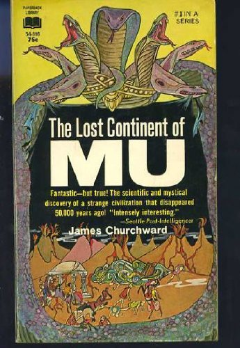 The Lost Continent of Mu, Churchward, James