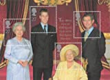 2000 QUEEN ELIZABETH THE QUEEN MOTHER 100TH BIRTHDAY MINIATURE SHEET