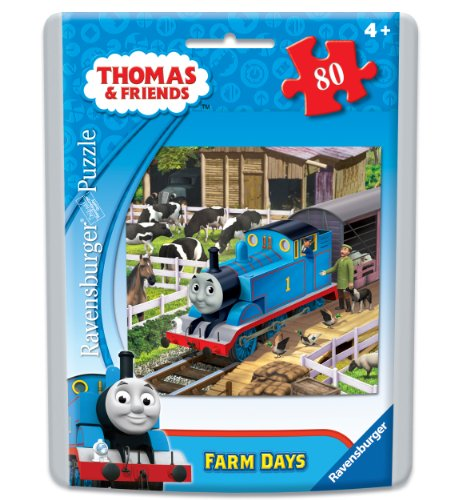 Thomas & Friends Farm Days Puzzle in an Easy-Seal Pouch, 80-Piece - 1