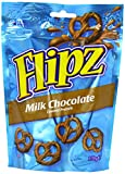 DEMET'S Flip Milk Choc Covered Pretzels 100 g (Pack of 4)