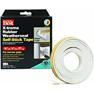 Do it Best X-Treme Rubber Weatherseal Tape-3/8X1/8
