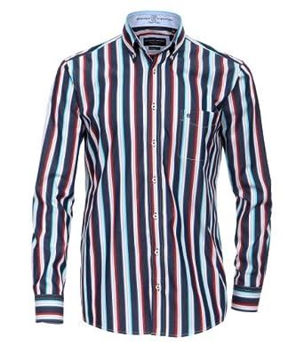 CASAMODA Herren Regular Fit Freizeithemd 441902300/400, Gr. XXXXX-Large, Rot
