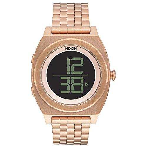 Nixon-Unisex-Armbanduhr-Digital-Quarz-Edelstahl-A948897