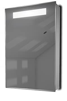 Alannah Demister LED Bathroom Cabinet With Demister, Sensor & Shaver k394