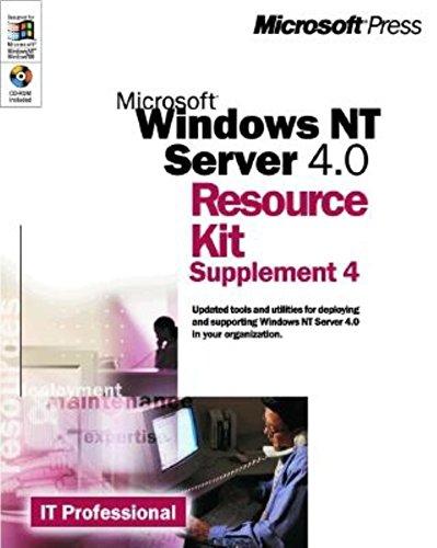 Microsoft Windows NT Server 4.0 Resource Kit Supplement 4 (It-Resource Kit) (Windows Nt Resource Kit compare prices)