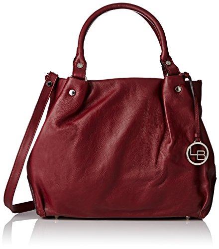 La Bagagerie Stacy, Borsa a spalla donna Taille unique, Rosso (Rosso (Bordeaux)), Taille unique