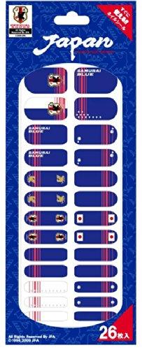 パブリックマーケット サッカー日本代表チームモデルA ネイルシール 26枚入