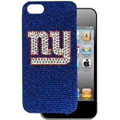 NFL New York Giants Crystal Snap on Case fits iPhone 5 by Siskiyou Sports