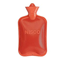 Niscomed Hot Water Bottle (red)