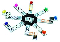 Cardinal Mexican Train Domino Game wi…