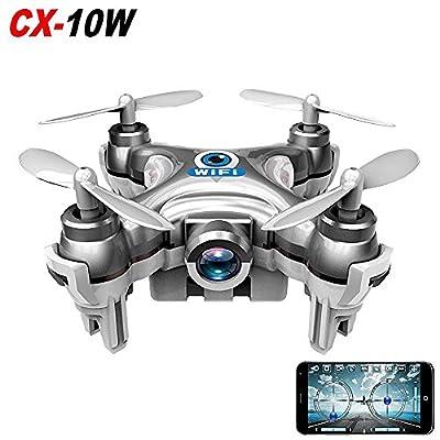 Newest Cheerson CX-10C CX10C Mini FPV Quadcopter 2.4G 4CH 6 Axis Gryo 0.3MP Camera RC Drone With LED RTF