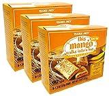 Trader Joe's Organic Mango Cereal Bars - 3 Pack