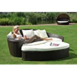 Sonneninsel Polyrattan Rattan WT-6002 Lounge Wellness
