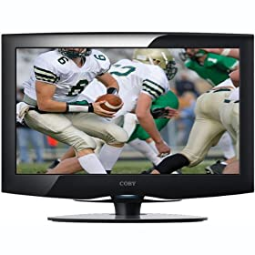 Coby TFTV2425 24-Inch Widescreen TFT LCD 1080p HDTV/Monitor with HDMI Input (Black)