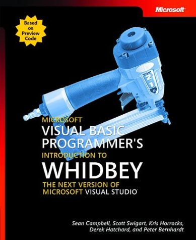 Large book cover: Introducing Microsoft Visual Basic 2005 for Developers