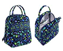 Vera Bradley Lunch Bunch in Indigo Pop