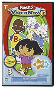 Videonow Jr. Personal Video Disc 3-Pack:  Nick Jr. #3