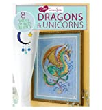 img - for I Love Cross Stitch: Dragons & Unicorns: 8 Fantasy Creatures to Stitch (I Love Cross Stitch) (Paperback) - Common book / textbook / text book