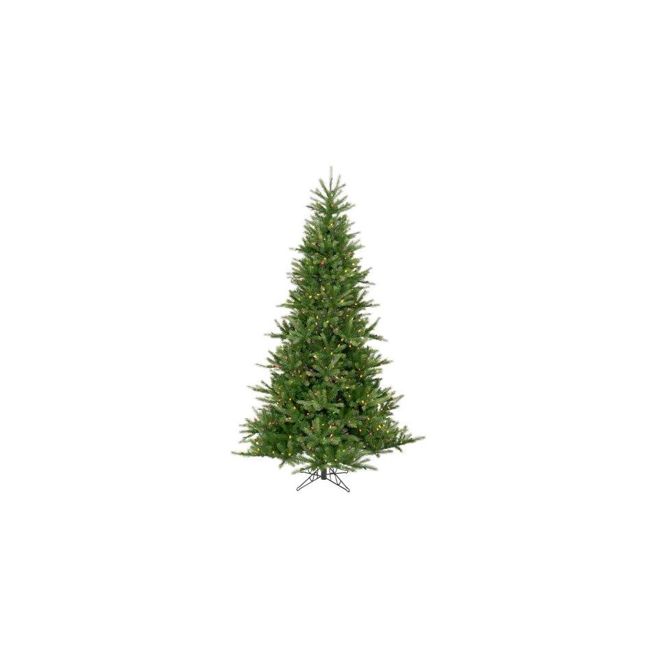 12 Pre lit Tiffany Spruce Artificial Christmas Tree   Multi Lights
