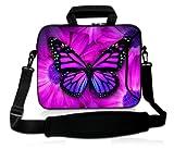Purple butterfly on flowers 15