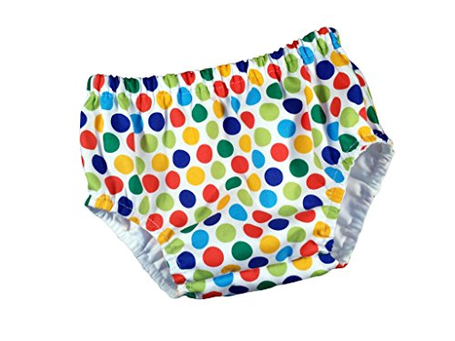 Juxby Kids Baby-Boys Primary Polka Dot Diaper Cover-6To12M