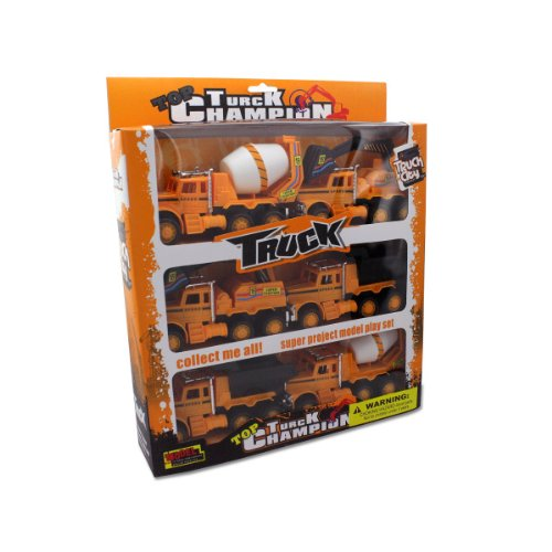 Friction Powered Construction Trucks : Package Of 2