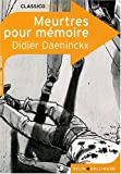 img - for Meurtres pour m moire book / textbook / text book
