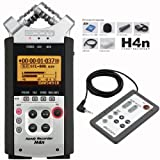Zoom H4n COMBO Portable Digital Recorder Package with Zoom RC-4 Remote