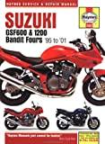 Suzuki GSF600 and 1200 Bandit Fours Service and Repair Manual: 1995-2001 (Haynes Service & Repair Manuals) Matthew Coombs