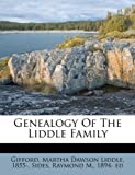 Genealogy Of The Liddle Family