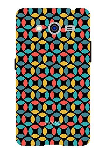 Noise Flexagon Black Printed Cover for Samsung Core 2 Duos