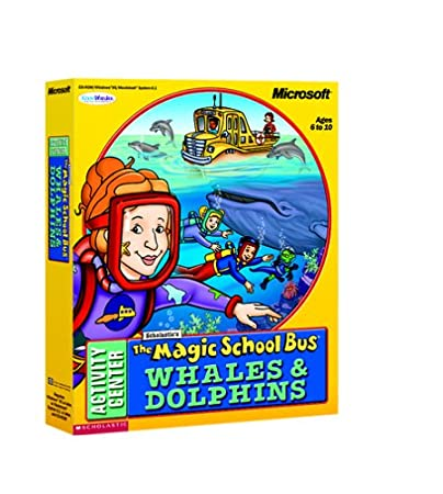 Magic School Bus Whales And Dolphins [Old Version]