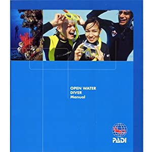 Padi OW - Open Water Crew Pack - Blue Log & Tables