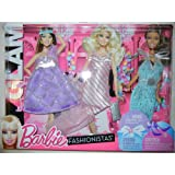 Barbie Fashionistas: Night Looks Clothes - Glam Night Out Pastel Fashions
