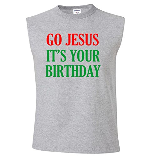 Go Jesus, It's Your Birthday Sleeveless T-Shirt