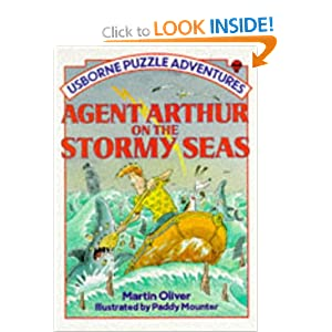 Agent Arthur on the Stormy Sea (Puzzle Adventures) Martin Oliver
