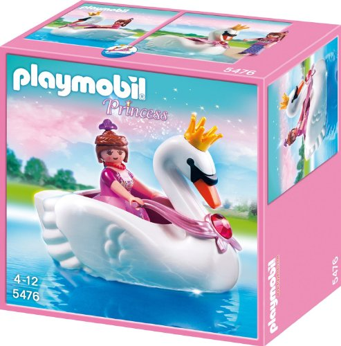 PLAYMOBIL(プレイモービル) プリンセス スワンボート 5476 並行輸入品