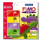 Staedtler Fimo Soft Set Kits For Kids Monster 8024 32 L2