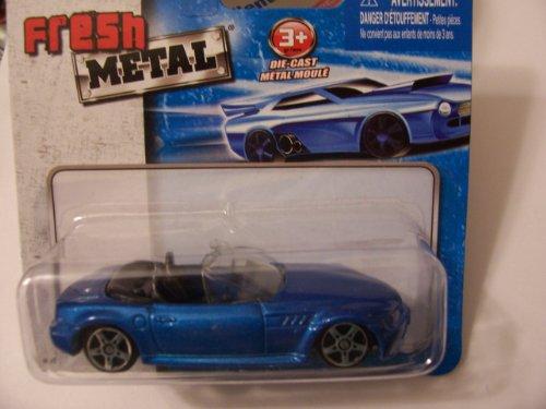 Maisto Fresh Metal Die-Cast Vehicles ~ BMW Z3 Convertible (Blue) - 1