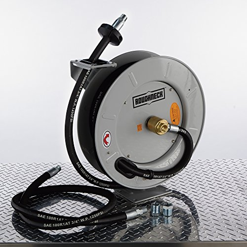 Roughneck-Spring-Rewind-Fuel-and-Oil-Hose-Reel-with-Hose-1250-PSI