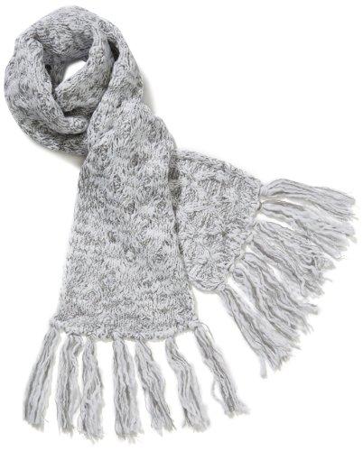 adidas, Sciarpa donna Schal Climawarm Cable , Multicolore (White/aluminum 2/hi-res R), Taglia unica