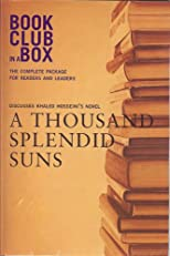 Bookclub-in-a-Box Discusses the Novel A Thousand Splendid Suns, by Khaled Hosseini