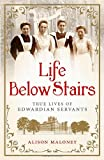 Alison Maloney Life Below Stairs: True Lives of Edwardian Servants