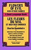 Image of Flowers of Evil and Other Works: A Dual-Language Book (Dover Dual Language French)